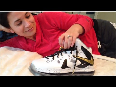Wife Reviews: Lebron X (10) P.S. Elite Breakdown. LMAO.