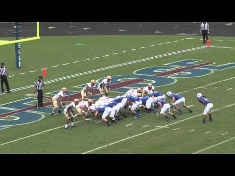 Presbyterian College Football vs. VMI - Highlights 10/19/13
