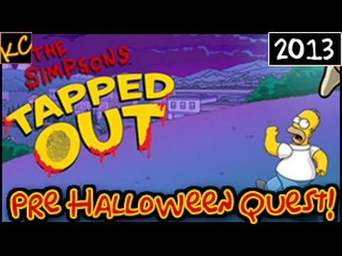 Let's Play! - The Simpsons: Tapped Out - Pre Halloween Quest! (Live