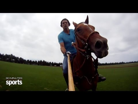 Preview Nacho Figueras Profile  60 MINUTES Sports July 3rd 9PM ETPT on SHOWTIME