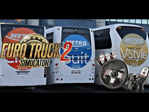 Logitech G27 ile ETS 2 Otobüs Mod'u