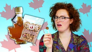 Irish People Try Canadian Maple Snacks