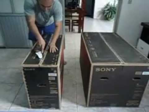 Unboxing Home theater Sony HT-M7 MUTEKI 7.2 3D part 1