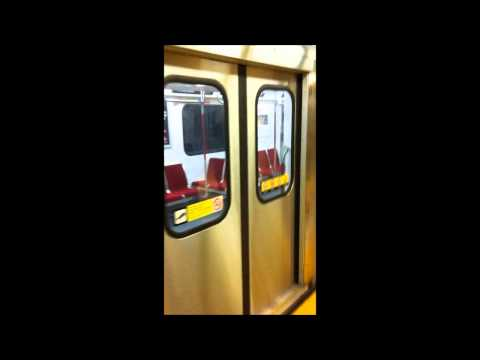 Riding on the NEW Toronto Rocket TTC train- July 21st, 2011 - Davisville to Finch