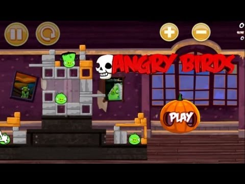 angry birds halloween game online