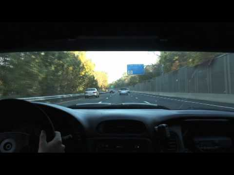 NY Exotic Car Rally from inside Super Speeders 750 rwhp Corvette (raw footage)