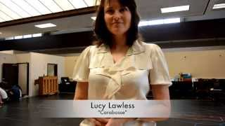 """LUCY LAWLESS Sings and Dances in """"Sleeping Beauty & Her Winter Knight"""""""