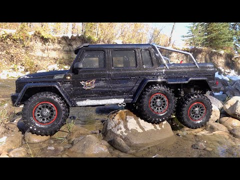 SPLASH TEST - Mercedes Benz G 63 AMG - 6x6 Traxxas TRX 6  | RC ADVENTURES