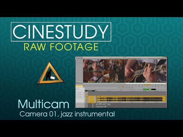 MULTICAM RAW FOOTAGE - Jazz song cam 01