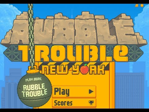 Rubble Trouble New York Level1-28 Walkthrough