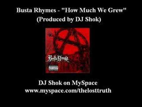 Busta Rhymes - How Much we Grew