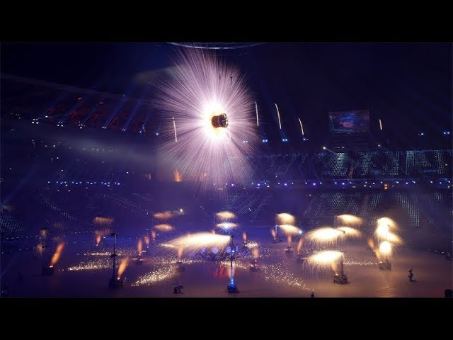 PyeongChang Winter Olympics: Spectacular fireworks light up opening ceremony