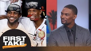 Chris Bosh on evolution of LeBron James: I