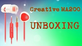 Creative MA200 Unboxing [RO]