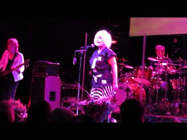 Blondie live Glasgow 2014