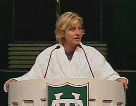 Ellen DeGeneres at Tulane s 2006 Commencement