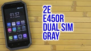 Распаковка 2E E450R Dual Sim Gray