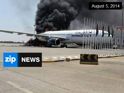 Fighting Continues Over Tripoli Airport - August 5, 2014
