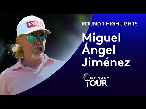 Miguel Ángel Jiménez shoots 8 under par and breaks all-time European Tour appearance record