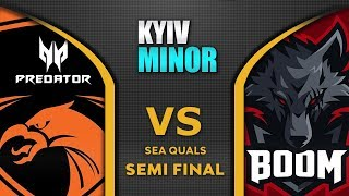 TNC vs BOOM [EPIC] Semi Final SEA Starladder SL Kyiv Minor 2020 Highlights Dota 2