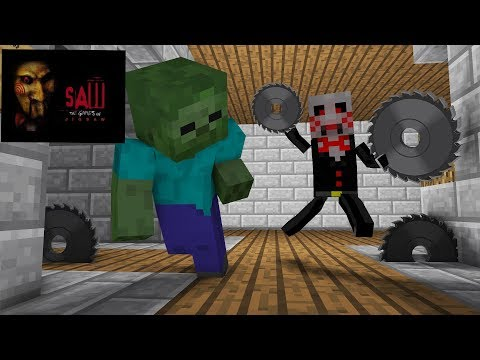 Monster School : Jigsaw Horror Game Challenge - Minecraft Animation