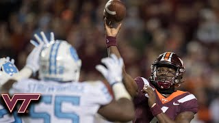 Quincy Patterson II Enters Game And Leads Virginia Tech To Victory