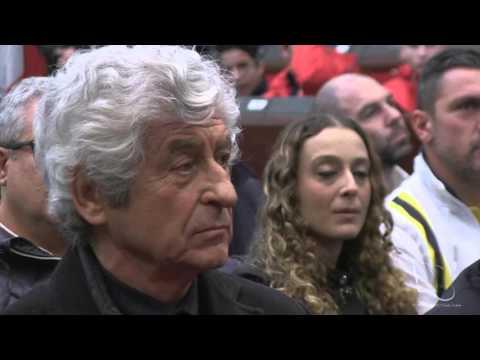 Gianni Rivera e Carlo Tavecchio a Catanzaro