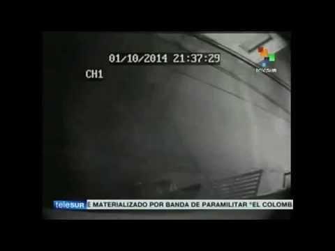 Esto fue lo que grabó la cámara de seguridad dentro de la casa del diputado Robert Serra