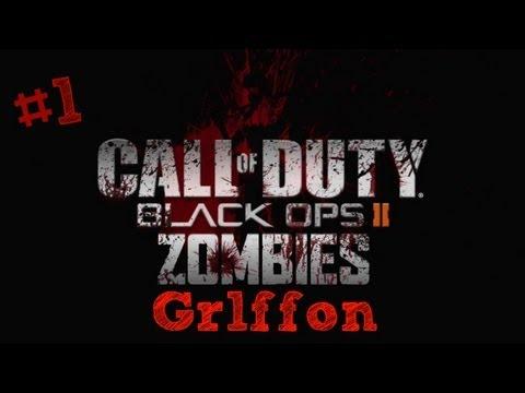 Call Of Duty : Black Ops 2 (Поиграем в зомби мод) #1