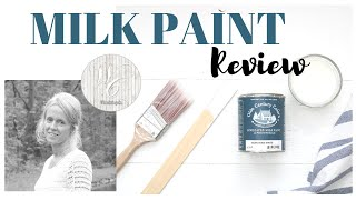 Milk Paint Review, Olde Century Colors Milk Paint, Night Stand Makeover