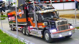 RC SCALE MODEL US TRUCK COLLECTION! RC US TRUCKS, RC AMERICA TRUCKS, RC SCANIA T500 V8