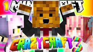 Minecraft CRAZY CRAFT 3.0 - I HATE MY GIRLFRIEND #1