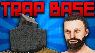THE GREATEST TRAP BASE IN RUST with AquaFPS