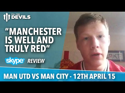 """Manchester Is Well And Truly Red"" 
