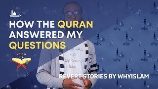 Video: How Quran Answered My Questions - Gareth Bryant Recounts His Journey in Search of the Truth