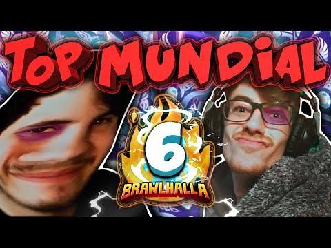 VUELTA AL TOP MUNDIAL 2VS2 | DOBLE VS DIAKOU Y EPHI | #6 | Brawlhalla Español