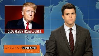 Weekend Update on CEOs Resigning from Trump's Economic Councils - SNL