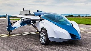 AeroMobil Flying Car Demo (must watch)