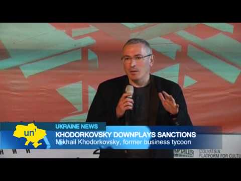 Putin opponent dismisses sanctions: Khodorkovsky says economic sanctions won't be effective