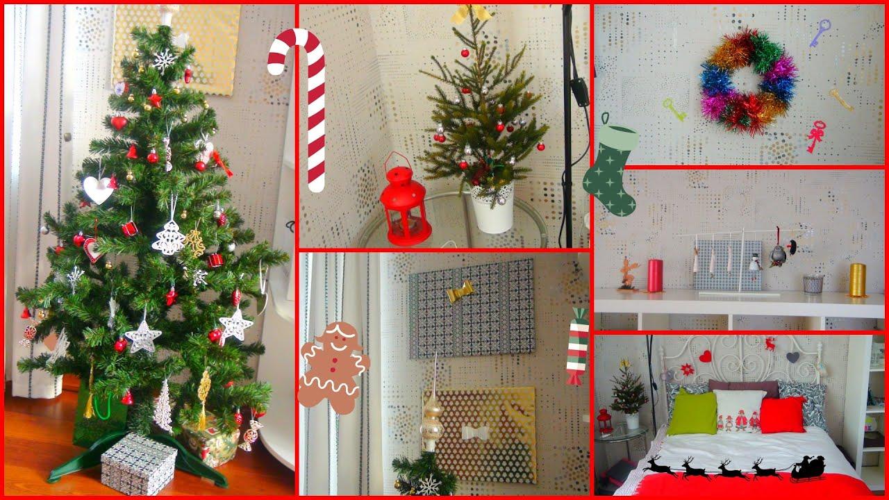 Идеи для новогоднего декора комнаты своими руками 29