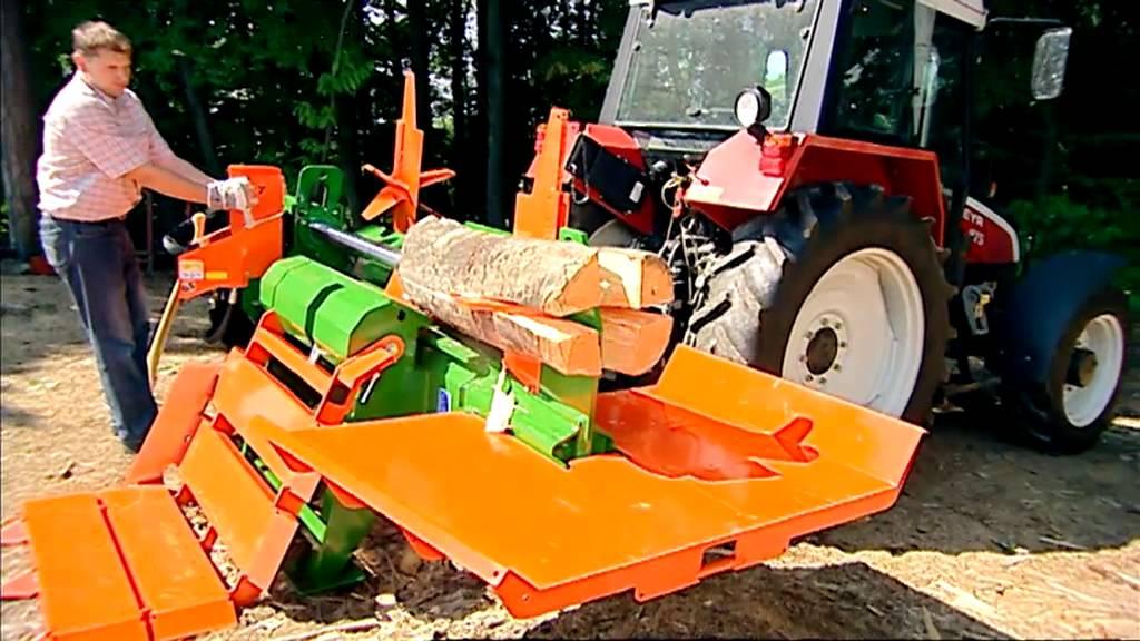 Posch splitmaster 30t wood splitter youtube for Splitmaster