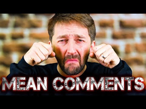 AARON KYRO READS MEAN COMMENTS!