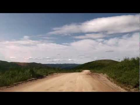 Drivelapse -  Top of the World Highway -  Dawson City, YT yo Chicken, AK - Part 3