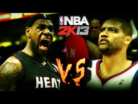 NBA 2K13 MyCareer LeBron James Vs The Ankle Bully (Full Game)