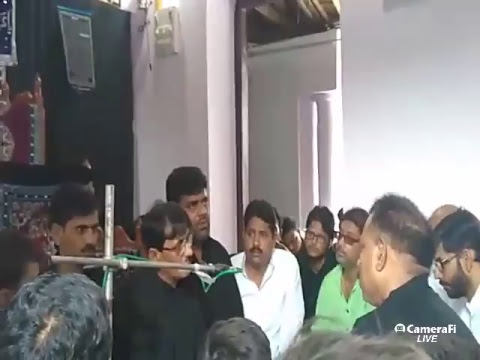 Azadari Channel's Live Marsiya 7th Muharram 1439 hijri at Gopalpur, Bihar , India