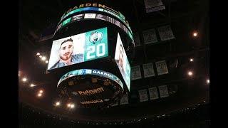Gordon Hayward Addresses the Boston Celtics Home Crowd   October 18, 2017