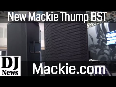 #Mackie Thumb 12 BST Bluetooth High Powered DJ Speaker | Disc Jockey News