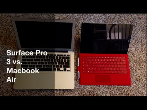 Vs. REVIEW: Why I like the Surface Pro 3 BETTER than the Macbook Air