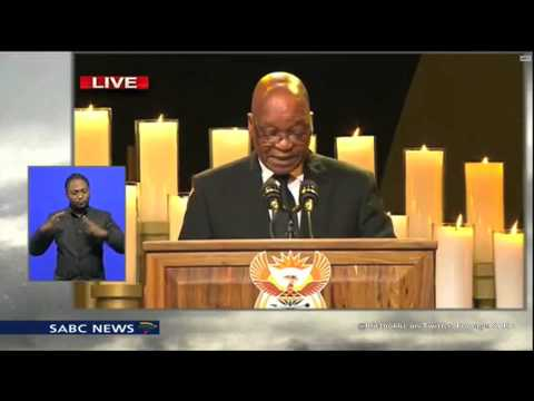 Nelson Mandela Funeral, President Jacob Zuma Speech