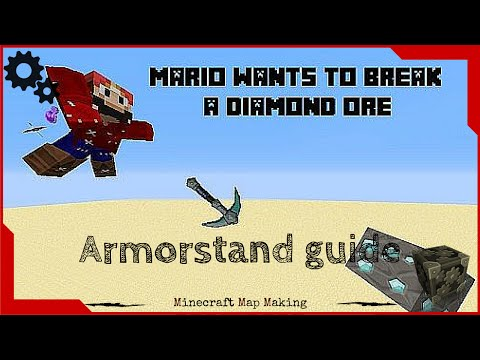 how to make an amor stand